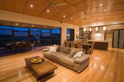 Open Planned Living Roof Skylights Led Lighting